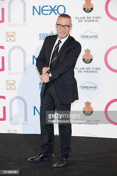 Goyo Gonzalez attends the Nexo Award 2012 at Madrid Shooting Club on September 13 2012 in Madrid Spain