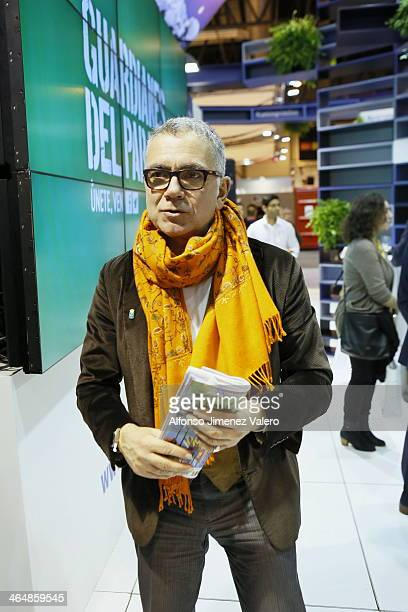 Goyo Gonzalez attends the Victor Manuel Press Conference at FITUR Tourism Fair in Madrid  at Ifema on January 24 2014 in Madrid Spain