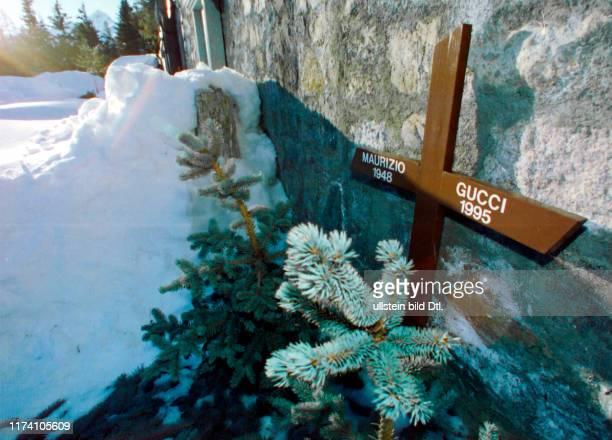 Grab von Maurizio Gucci in St Moritz 1997