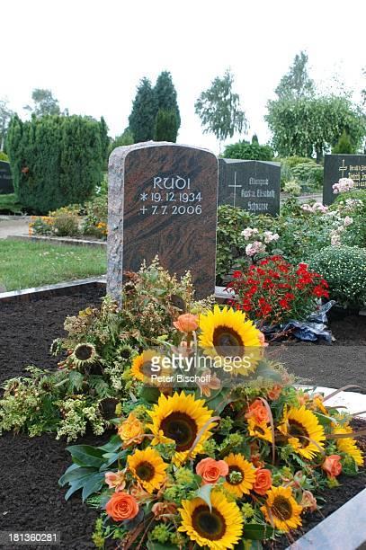 Grab von Rudi Carrell und ExEhefrau Anke Kesselaar Grabstein Rudi Carrell 'Friedhof Heiligenfelde' Deutschland