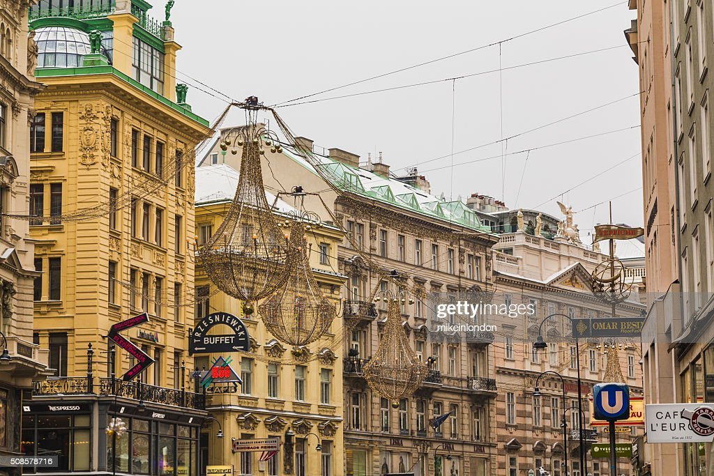 Graben in the Winter : Stock Photo