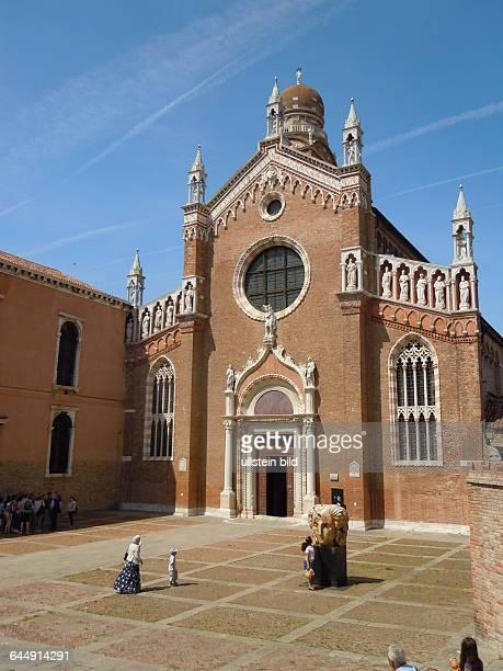 Grabkirche des Malers Tintoretto Madonna dell`Orto aufgenommen am 17 Mai 2015 im Stadtviertel Castello in Venedig