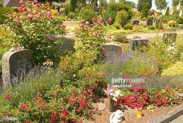 3 Grabstein von Rudi Carrell 2vl mit eingemeisseltem Autogramm und Inschrift Diese Landschaft ist ein Paradies Hier war ich zu Hause sowie Grabstein...