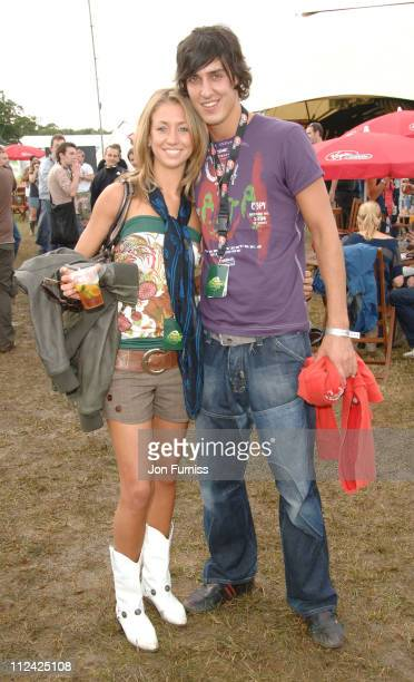 Grace AdamsScott and Mikey Dalton in the Virgin Mobile Louder Lounge at the V Festival
