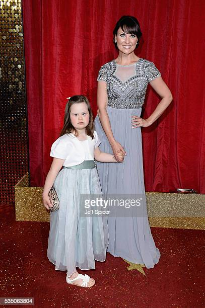 Grace and Emma Barton attend the British Soap Awards 2016 at Hackney Empire on May 28 2016 in London England