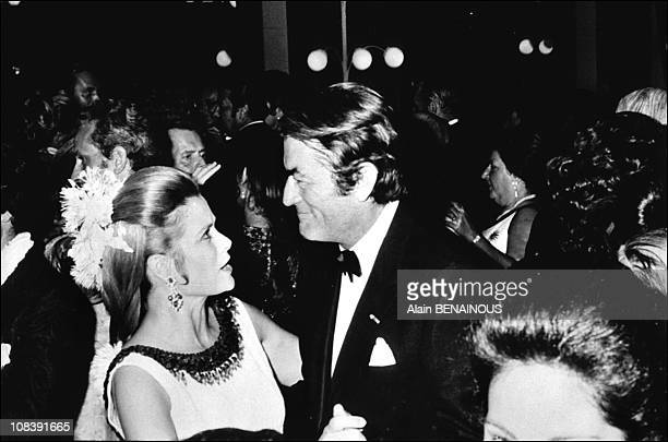Grace and Gregory Peck in 1970 Monaco