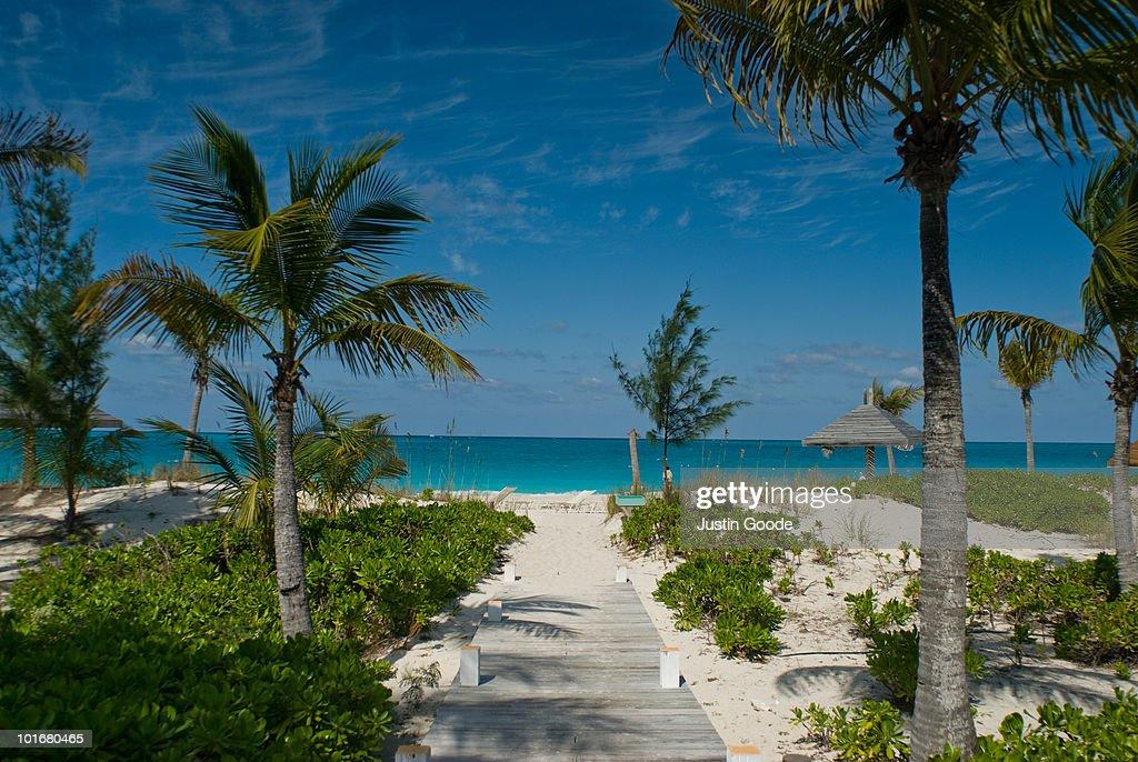 Grace Bay Beach : Stock Photo