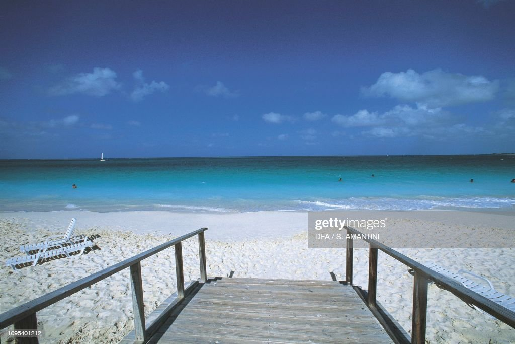 Grace Bay Beach, Providenciales, Turks and Caicos : News Photo
