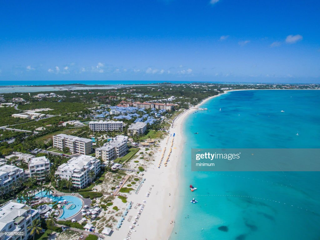 Grace Bay Turks and Caicos : Stock Photo