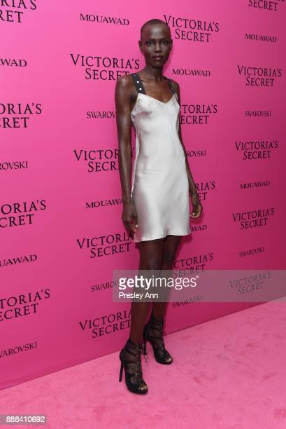 Grace Bol attends 2017 Victoria's Secret Fashion Show In Shanghai After Party at MercedesBenz Arena on November 20 2017 in Shanghai China