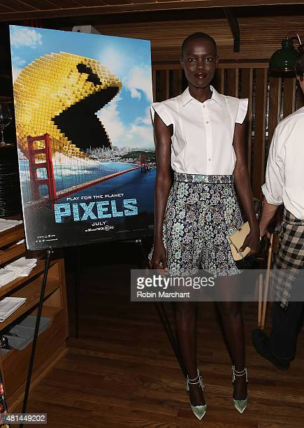 Grace Bol attends a Dinner Honoring The Women Of 'Pixels' at Upland on July 20 2015 in New York City
