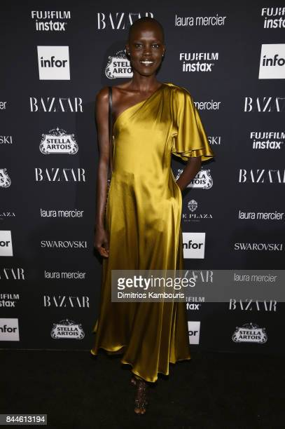 Grace Bol attends Harper's BAZAAR Celebration of 'ICONS By Carine Roitfeld' at The Plaza Hotel presented by Infor Laura Mercier Stella Artois...