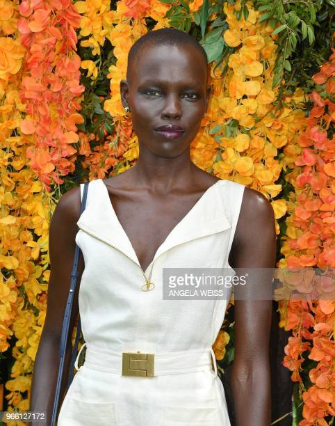 Grace Bol attends the 11th Annual Veuve Clicquot Polo Classic at Liberty State Park on June 2 2018 in Jersey City New Jersey