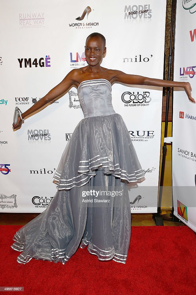 Grace Bol attends the 2nd Annual Women & Fashion FilmFest Red Carpet Opening at Gold Bar on June 3, 2014 in New York City.