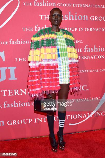 Grace Bol attends the Fashion Group International's 34th Annual Night of Stars Gala at Cipriani Wall Street on October 26 2017 in New York City