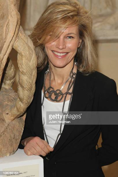 Grace Borletti attends the Alexis Mabille show as part of the Paris Haute Couture Fashion Week Fall/Winter 2011 at Musee Bourdelle on January 24 2011...