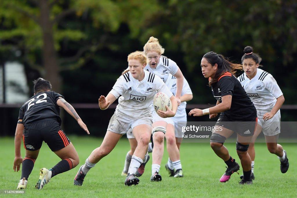 Black Ferns Training Match : News Photo
