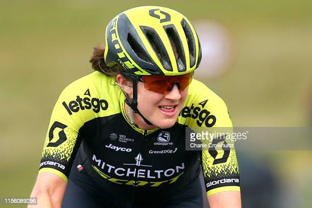 Grace Brown of Australia and Team Mitchelton SCOTT / Black Mountain / during the 6th OVO Energy Women's Tour 2019 Stage 6 a 1259km stage from...