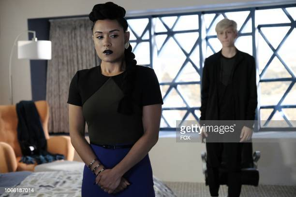 Grace Byers and Percy Hynes White in the unMoored episode of THE GIFTED airing Tuesday Oct 2 on FOX