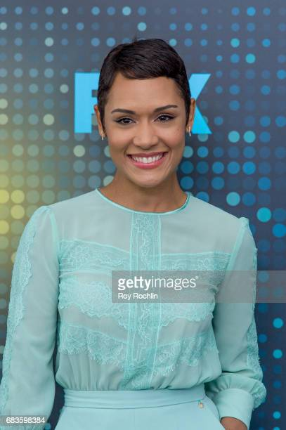 Grace Byers attends the 2017 FOX Upfront at Wollman Rink Central Park on May 15 2017 in New York City