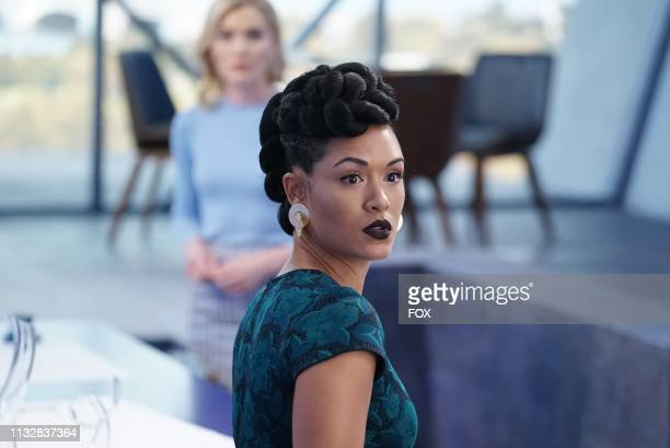 Grace Byers in the gaMe changer fall finale episode of THE GIFTED airing Tuesday Dec 4 on FOX