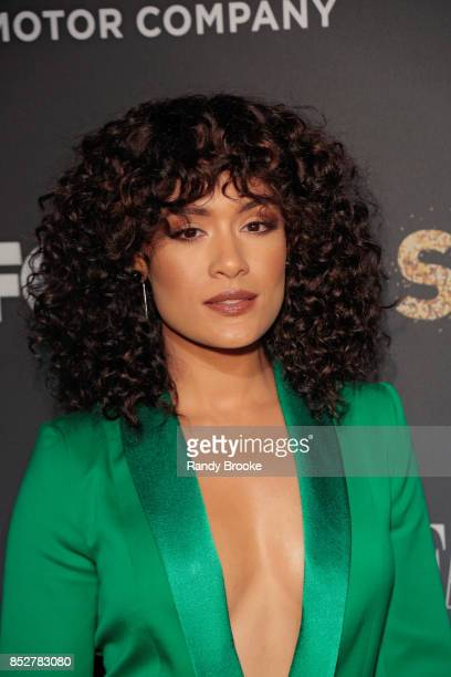 Grace Byers poses on the red carpet during the Empire Star Celebrate FOX's New Wednesday Night at One World Observatory on September 23 2017 in New...