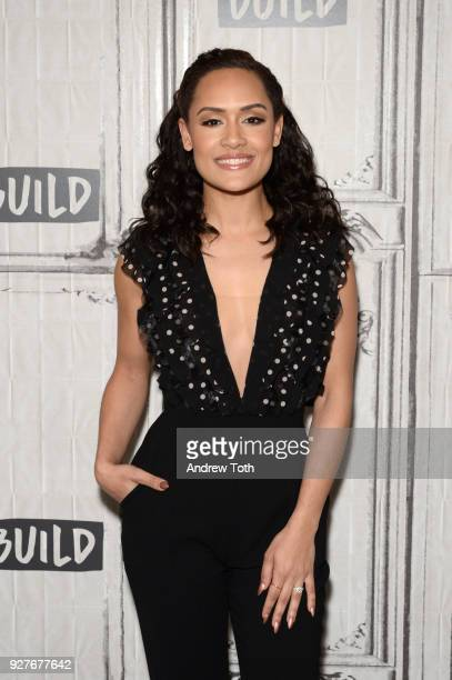 Grace Byers visits Build to discuss her book I Am Enough at Build Studio on March 5 2018 in New York City
