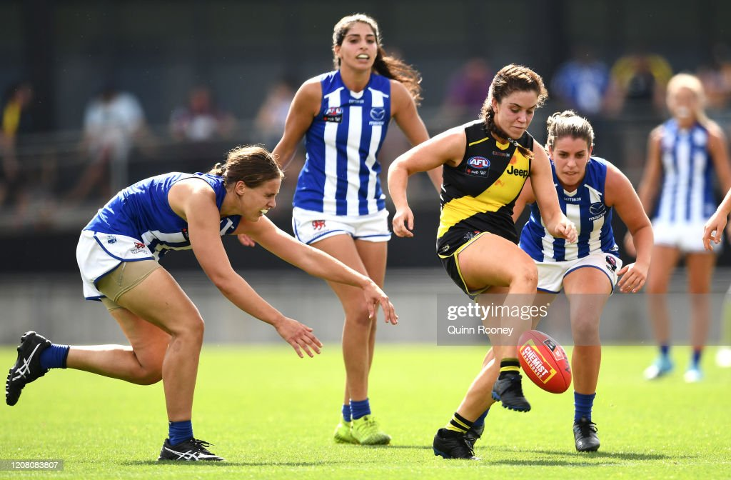 AFLW Rd 3 - Richmond v North Melbourne : News Photo