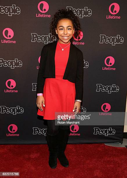 Grace Capeless attends Lifetime's 'Beaches' New York Screening at AMC Empire 25 theater on January 18 2017 in New York City