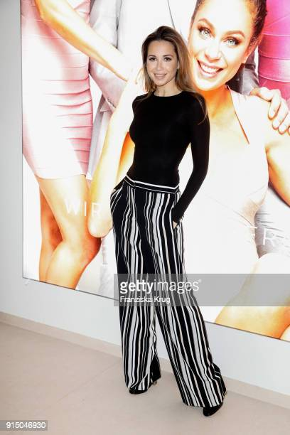 Grace Capristo during the presentation of the new hairfree campaign on February 6 2018 in Darmstadt Germany