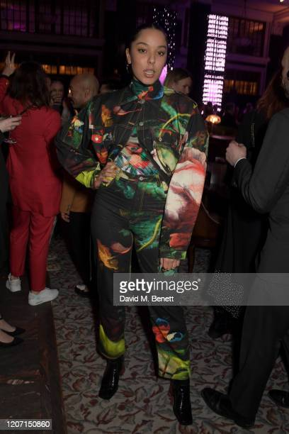 Grace Carter attends the Universal Music BRIT Awards afterparty 2020 hosted by Soho House PATRÓN at The Ned on February 18 2020 in London England