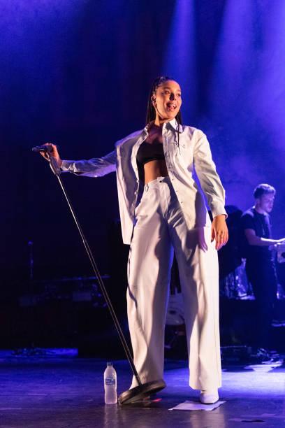 GBR: Lewis Capaldi Performs At Usher Hall, Edinburgh