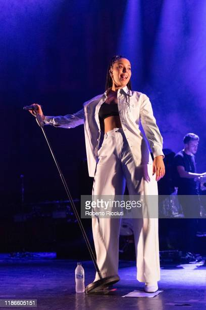 Grace Carter performs at Usher Hall on December 5, 2019 in Edinburgh, Scotland.