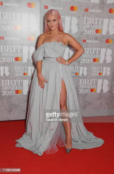 Grace Chatto arrives at The BRIT Awards 2019 held at The O2 Arena on February 20 2019 in London England