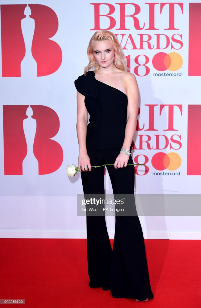 Grace Chatto attending the Brit Awards at the O2 Arena, London.
