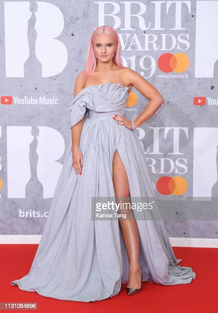 Grace Chatto attends The BRIT Awards 2019 held at The O2 Arena on February 20 2019 in London England