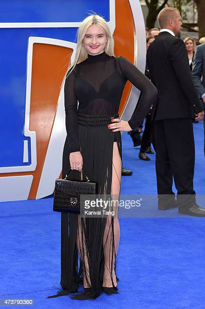 Grace Chatto attends the European premiere of 'Tomorrowland A World Beyond' at Odeon Leicester Square on May 17 2015 in London England