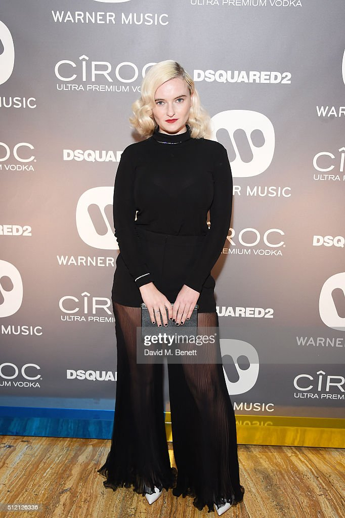 Grace Chatto attends the Warner Music Group & Ciroc Vodka Brit Awards after party at Freemasons Hall on February 24, 2016 in London, England.