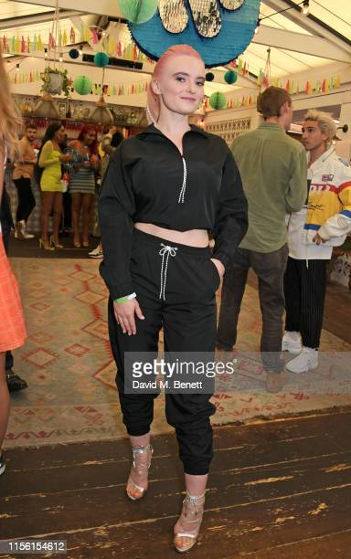 Grace Chatto attends the Warner Music summer drinks on July 17 2019 in London England