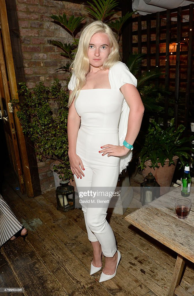Grace Chatto attends the Warner Summer Party in association with British GQ at Shoreditch House on July 8, 2015 in London, England.