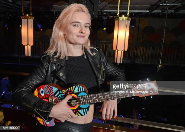 Grace Chatto of Clean Bandit ahead of the Art On A Ukulele Concert at The Jazz Cafe on September 12 2017 in London England