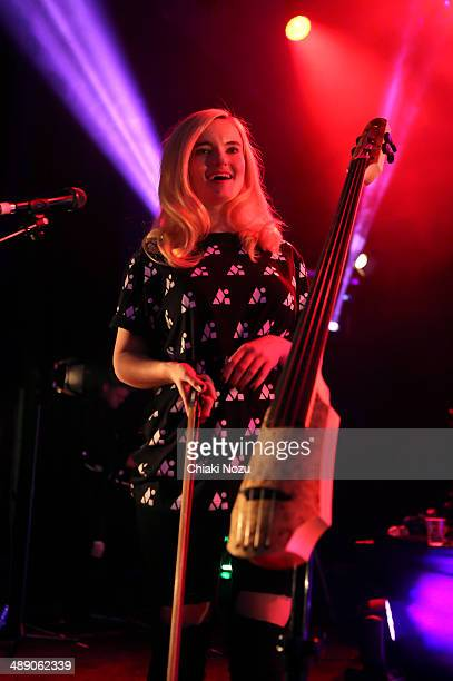 Grace Chatto of Clean Bandit Performs at 02 Shepherd's Bush Empire on May 9 2014 in London England