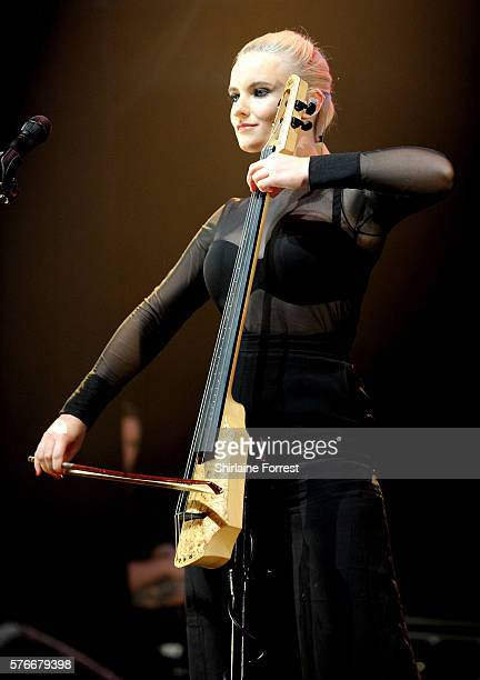 Grace Chatto of Clean Bandit performs at Key 103 Live at Manchester Arena on July 16 2016 in Manchester England