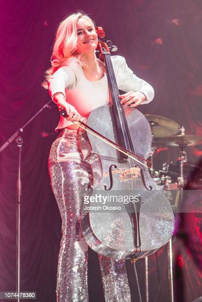 Grace Chatto of Clean Bandit performs at the Ellie Goulding for Streets of London fundraiser at Wembley Arena on December 20 2018 in London England