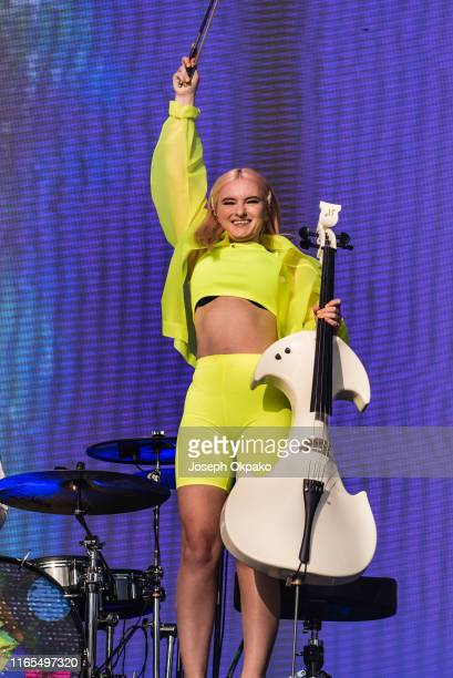 Grace Chatto of Clean Bandit performs on stage during day 3 of Fusion Festival 2019 on September 01 2019 in Liverpool England