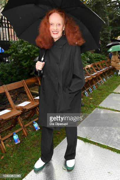 Grace Coddington attends the Rodarte Front Row during New York Fashion Week The Shows on September 9 2018 in New York City