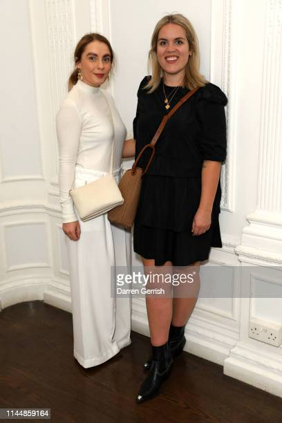 Grace Cook and Sophie Henderson attend the Outnet's 10th Anniversary Dinner on April 24 2019 in London England