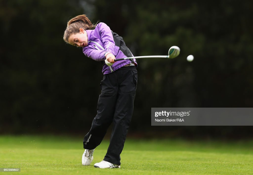 Girls' U16 Open Championship - Day Two : News Photo