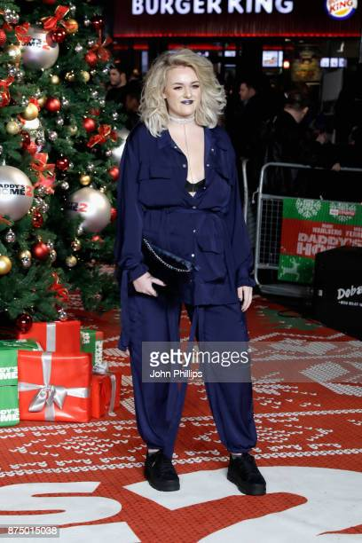 Grace Davies arrives at the UK Premiere of 'Daddy's Home 2' at Vue West End on November 16 2017 in London England