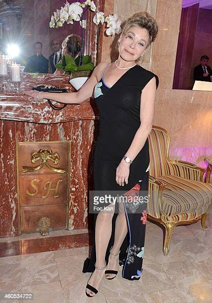 Grace de Capitani attends 'The Best' Awards 2014 Ceremony At Salons Hoche on December 15 2014 in Paris France